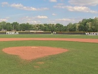 Senior prank: Tree planted on baseball field