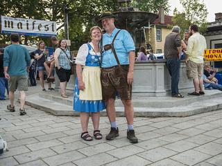 2015 Maifest kicks off in Mainstrasse