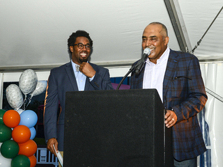 Marvin Lewis Golf Classic weekend VIP party