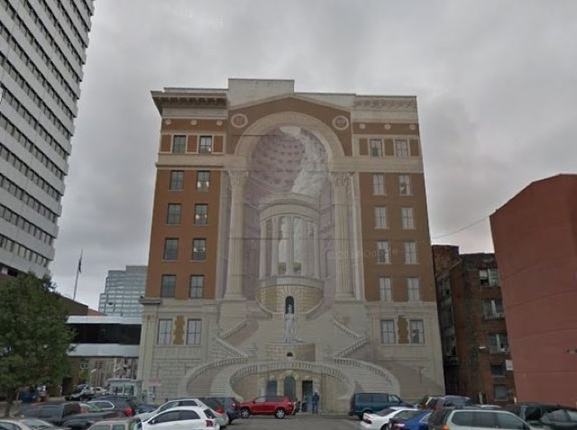 kroger building 39 s iconic cincinnatus mural getting a