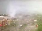 Tornado hits Beavercreek shopping center
