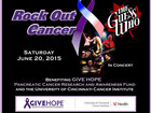 Enter win tickets to Rock Out Cancer concert
