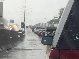 Tri-State storms close freeway, knock out power