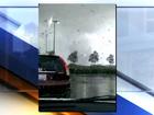 RAW VIDEO: Tornado tears through mall lot