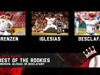 Which of the Reds rookies is best?