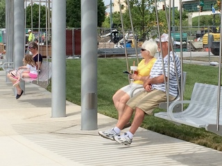 Who got left out of Smale Park construction?