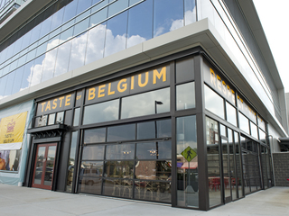 Inside Taste of Belgium at Rookwood Exchange