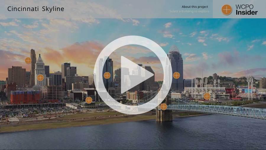 Open Cincinnati Skyline interactive