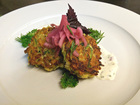 How a top Cincy chef makes zucchini cakes