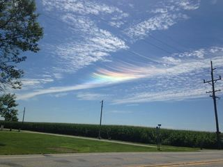 PHOTOS: Iridescent clouds in the Tri-State