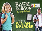 Enter The Back To School Sweepstakes