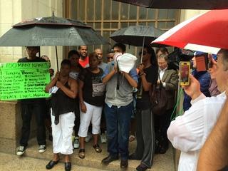 Black Lives Matter rally for Samuel DuBose