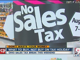 9 things to know about Ohio's Sales Tax Holiday