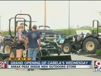 West Chester Cabela's opening on Wednesday
