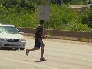 Carjacking suspect tried to escape -- again
