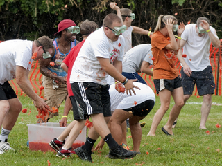 PHOTOS: Cincinnati holds first tomato fight