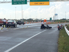 Police: Motorcyclist seriously injured in crash