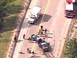 Chief: Driver in Ft. Wright crash 'erratic'