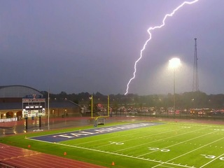 Severe weather postpones Friday night football