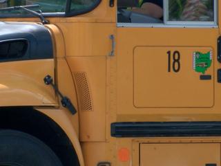 Parent punched school bus driver, district says