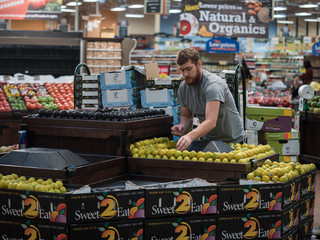 Would you pay for groceries on your phone?