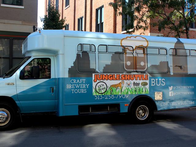 jungle shuttle bus