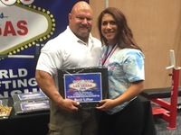 Dixie Heights grad powerlifts to 3 world records