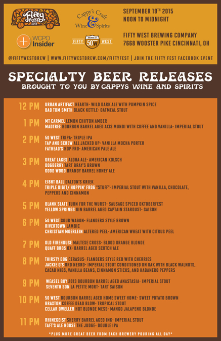 fifty fest special taps