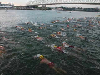 Why dozens will swim across Ohio River on Sunday