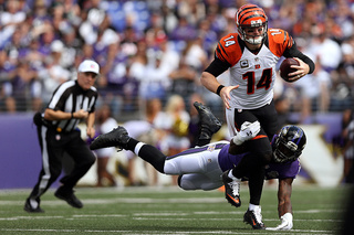 NFL Week 3: Bengals versus Ravens