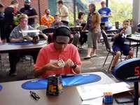 WATCH: Mason teen crushes Rubik's Cube record
