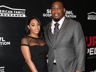 Devon Still and fiancée Asha win 'dream wedding'