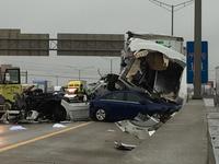 I-71/75 at I-275 reopened after massive crash
