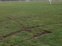 After years of work, soccer fields torn up again