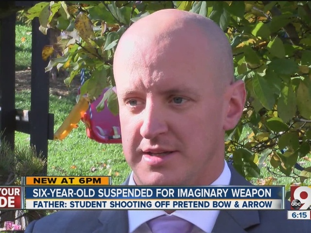 Catholic school suspends 6-year-old for pretending to shoot imaginary bow and arrow at recess