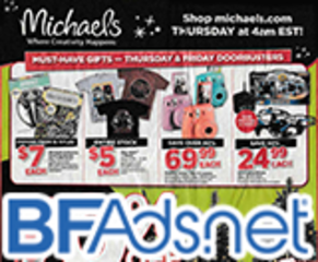 Michael's stores Black Friday ad is out