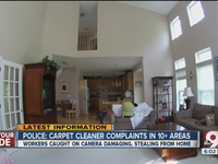 PD: Carpet cleaners stealing from local homes