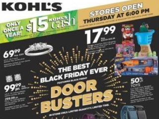 Kohl's Black Friday ad is out