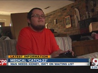 Springboro man battling 'medical Catch-22'