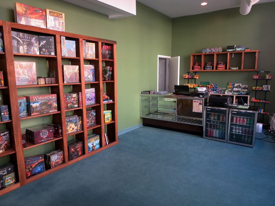 a look inside Arkham House Games
