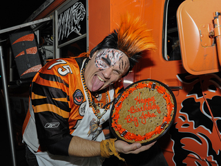 Fans show up in force to cheer on Bengals