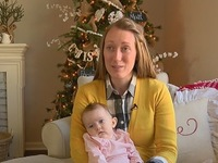 Parents see 'miracle' when baby's tumor vanishes