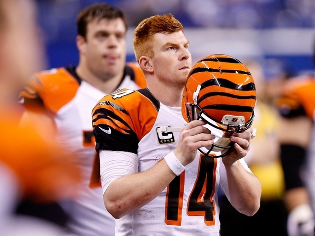 Andy Dalton enlists Internet in #bagsearch2016
