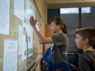 Wyoming 5th-graders create zoo exhibits