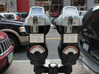 Meters at Liberty Center help support charities
