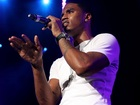 Trey Songz plays Santa for needy children
