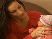 Mom gives birth in car after Christmas shopping