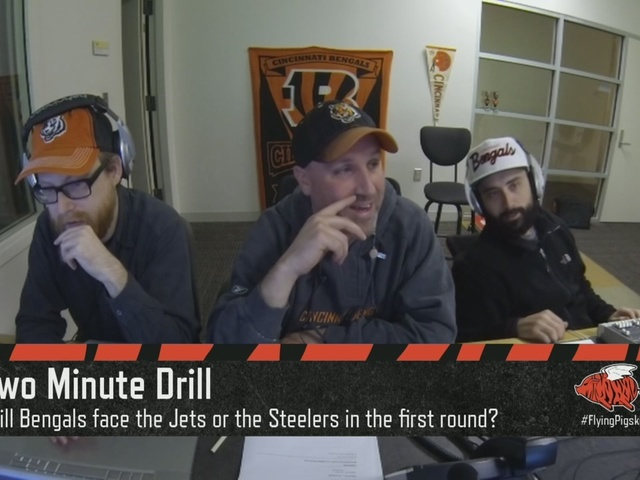 Will the Cincinnati Bengals face the NY Jets or the Pittsburgh Steelers…