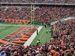 Plan ahead for traffic for Bengals game tonight