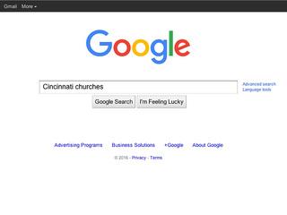 Local churches have faith in ... Google